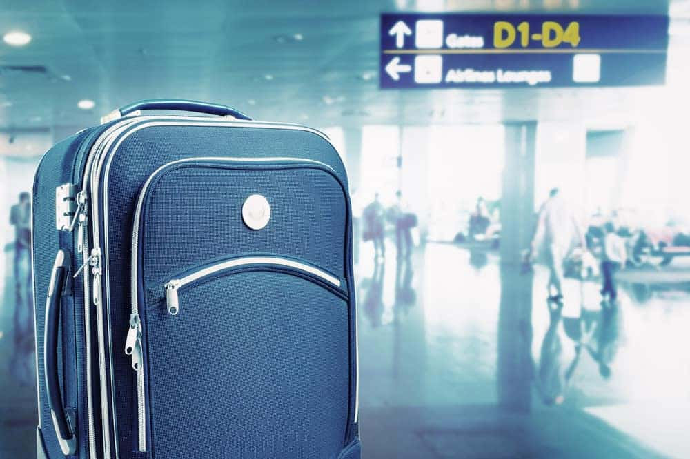Kuffert rejseudstyr