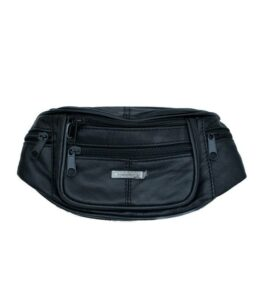 Lorenz læder bæltetaske