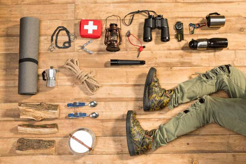 alt udstyr til din vandrerygsæk