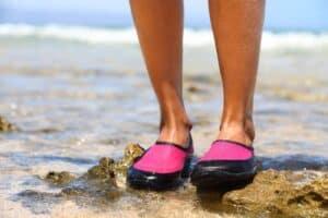 sko til vandet