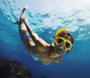 snorkeludstyr for voksne og børn