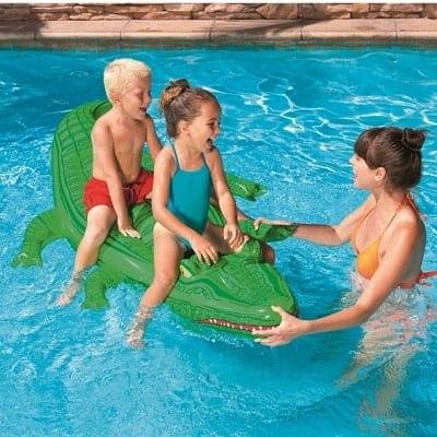 krokodille badedyr børn