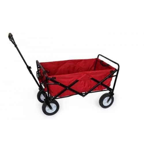 Smallfoot vogn i rød