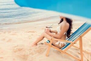 strandstol sammenklappelig