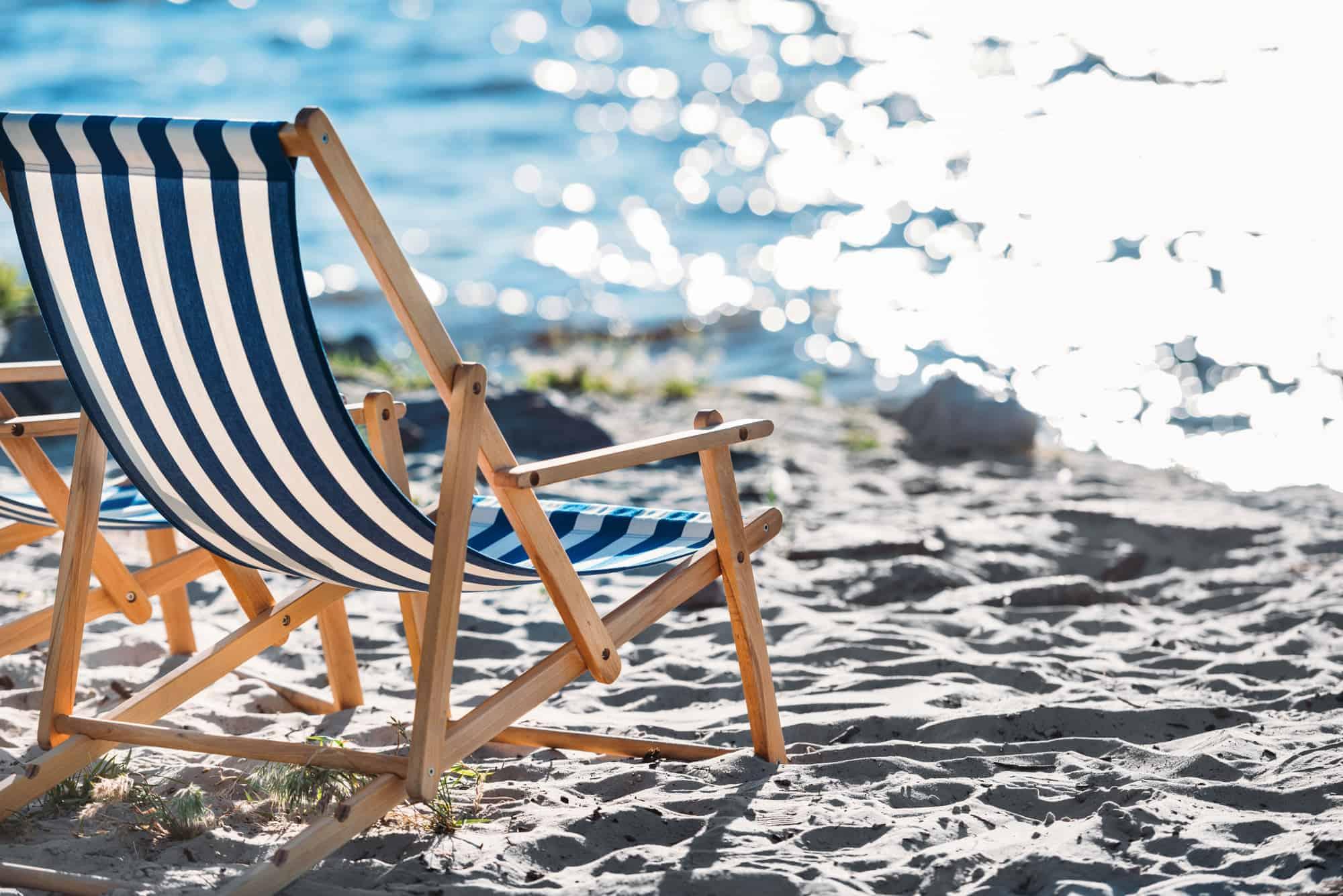 Strandstol - nyd udsigten
