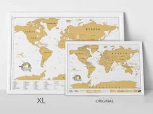 Scratch Map XL