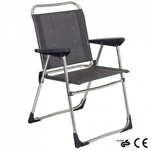 Crespo letvægts campingstol med lav ryg