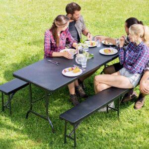 campingbord og stol