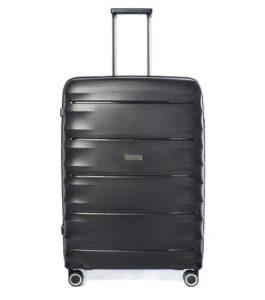 letvægts kuffert med 4 hjul