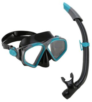 Aqua Lung Snorkelsæt - Combo Hawkeye/Pike Adult - Sort/Grøn