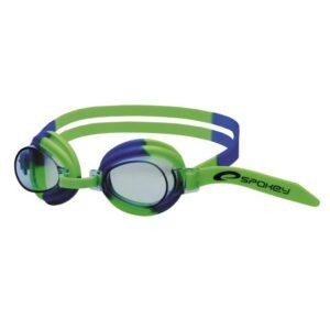 Spokey svømmebrille - Jellyfish (limegrøn, blå)