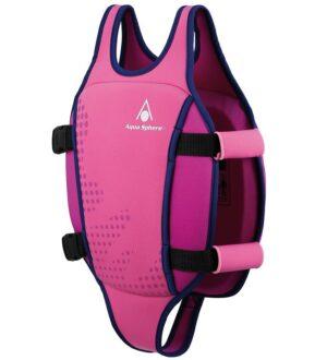 Aqua Sphere Svømmevest - 2-3 år - Pink