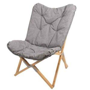 Foldbar Lounge stol med polstret hynde