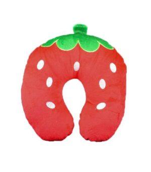 Jordbær Børne Nakkepude