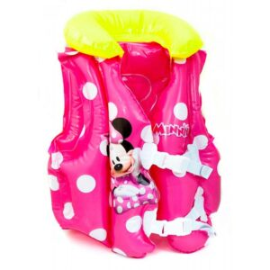Oppustelig svømmevest, 3 - 6 år - Minnie (Bestway)