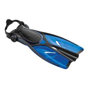 Svømmefødder til voksne - Dolphin 38-41 blå