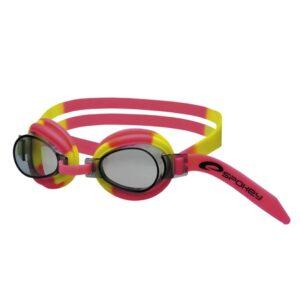 Spokey svømmebrille - Jellyfish (gul lyserød)
