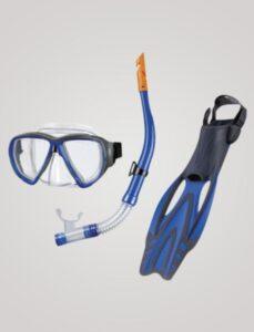 Porto snorkelmaske, finne og snorkel