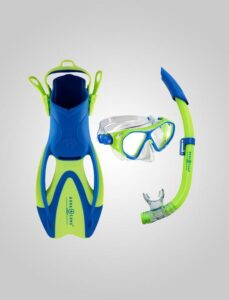Urchin Junior snorkelsæt med finne/maske/snorkel