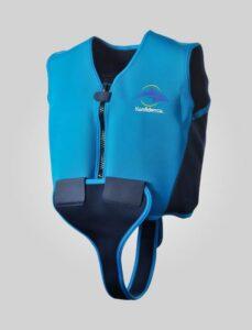 Konfidence - Youth mørkeblå svømmevest til børn (Størrelser fra 8 til 14 år)