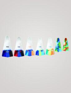 TYR stryker silikone svømmefinne med hæl