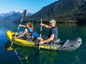 Intex Explorer K2 Oppustelig Kajak (2 personer) – Bedst til prisen